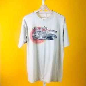 Vintage Delorean Classic Car Thin Summer T Shirt
